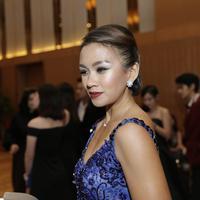 Melanie Putria masuk dalam salah satu dari empat nominator terbaik di Influence Asia 2017. (Bintang.com/Galih W. Satria)