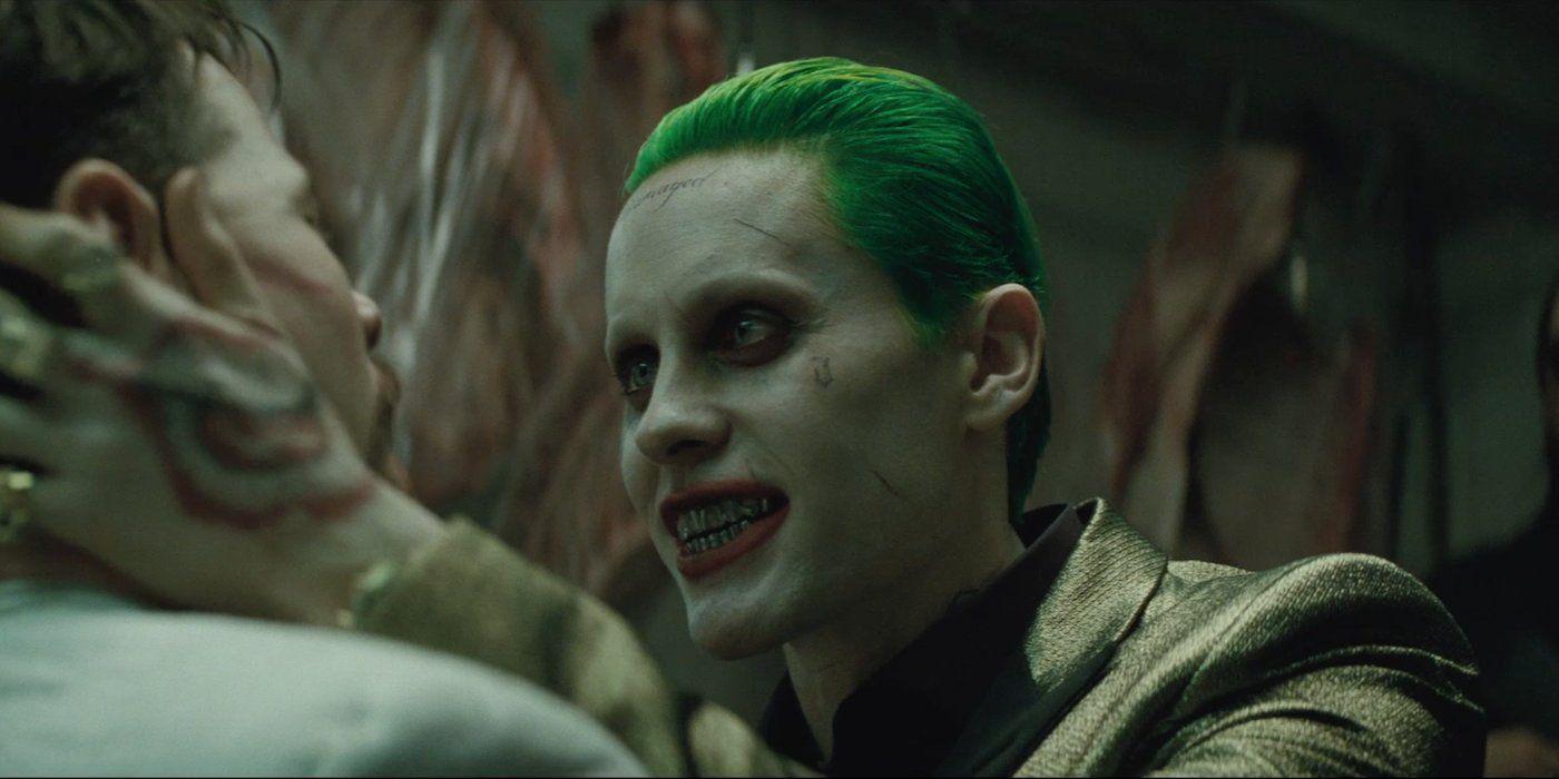 Jared Leto sebagai Joker di Suicide Squad. (screenrant.com)