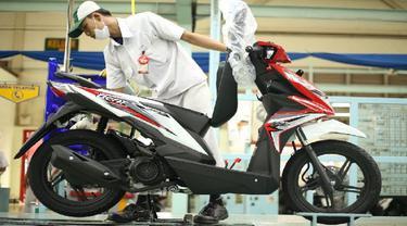 Buka Tahun, New Honda BeAT Dapat Grafis Baru, Harga Naik? (Foto:AHM)