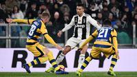 Cristiano Ronaldo. (AFP/Marco Bertorello)