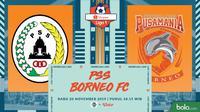 Shopee Liga 1 - PSS Sleman Vs Borneo FC (Bola.com/Adreanus Titus)
