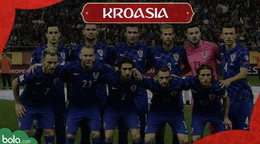 Berita Video Profil Tim Piala Dunia 2018, Kroasia