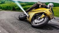 Bosch mengembangkan teknologi roket untuk meningkatkan keselamatan pengendaraan motor (Bosch)