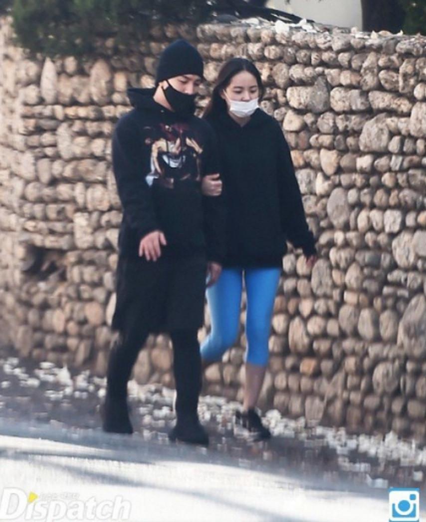Taeyang dan Min Hyo Rin tertangkap kamera tengah berkencan (Dispatch)