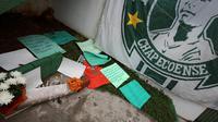 Pemain top dunia pun memberikan ucapan belasungkawa untuk tragedi yang dialami oleh klub sepak bola Brasil, Chapecoense. (Foto: washingtonpost.com)