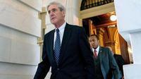 Robert Mueller, Kepala Penyelidik Khusus Kementerian Hukum dan Kehakiman AS yang menangani dugaan skandal campur tangan Rusia dalam Pilpres AS 2016 (AP)