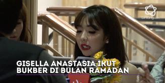 Gisella Anastasia ikut merasakan hikmah di bulan Ramadan 1438 H.