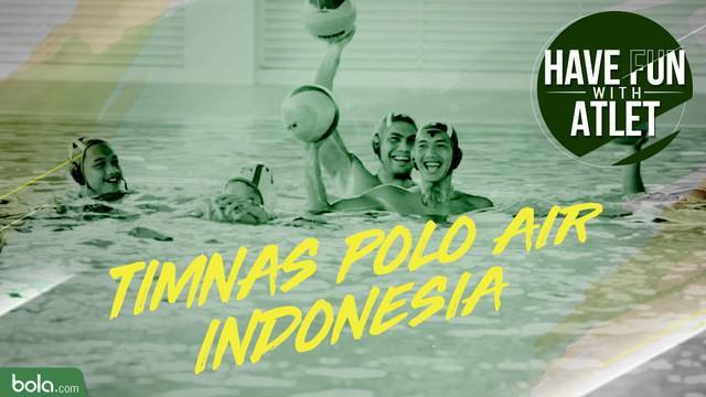Berita Video Have Fun With Atlet kali ini bersama Timnas Putra Polo Air Indonesia untuk Asian Games 2018.