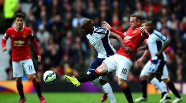 Manchester United tak berdaya saat bersua West Bromwich Albion di laga pekan ke-35 Liga Premier Inggris. Bermain di Old Trafford, Sabtu (2/5/2015) malam WIB, MU tumbang 0-1 atas West Brom.