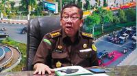 Asisten Intelijen Kejati Riau Raharjo Budi Kisnanto dalam konferensi pers penanganan korupsi di Riau. (Liputan6.com/M Syukur)