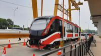 Uji coba LRT Jabodebek (dok: Bawono)