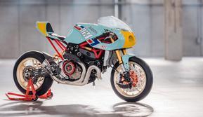 Ducati Monster (Pipe Burn)