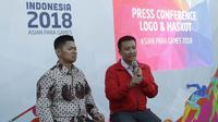 Menpora, Imam Nahrawi, memeberikan keterangan usai acara peresmian hitung mundur Asian Para Games 2018 di Kemayoran, Kamis (6/10/2017). Asian Para Games 2018 akan digelar mulai 8 hingga 13 Oktober di Jakarta-Palembang. (Bola.com/M Iqbal Ichsan)