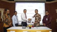 ITDC bersama Kejaksaan Tinggi Provinsi Bali hari ini melakukan penandatanganan Nota Kesepahaman/MOU Kerjasama di Bidang Hukum Perdata dan Tata Usaha Negara untuk kawasan pariwisata The Nusa Dua. (Dok. ITDC)