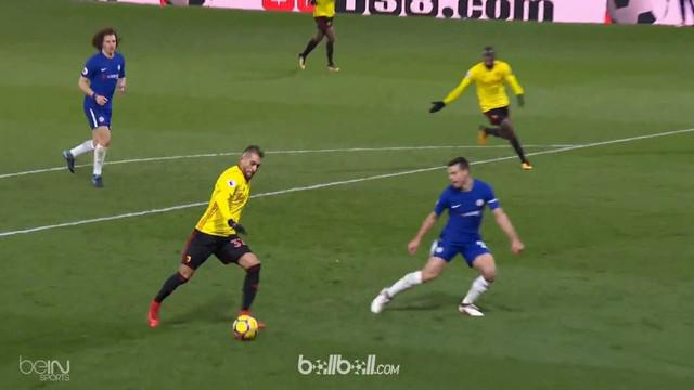 Berita video gol mengesankan Eden Hazard pada laga Watford vs Chelsea dengan skor 4-1 di Premier League 2017-2018. This video presented by BallBall.