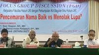 FGD 'Pencemaran Nama Baik vs Menolak Lupa' di Kampus UKI. ©2018 Merdeka.com