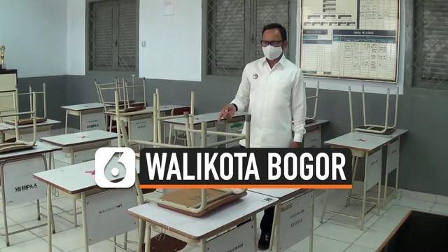 Jelang persiapan sekolah tatap muka pada tahun ajaran mendatang, Bima Arya memantau kondisi sekolah di Kota Bogor pada Kamis siang, seraya mensosialisasikan persyaratan yang harus dipenuhi oleh masing-masing pengurus sekolah.