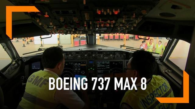 ementerian Perhubungan resmi melarang seluruh pesawat terbang Boing 737 Max 8 milik maskapai nasional di ruang udara Republik Indonesia.