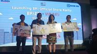 PT Bank Rakyat Indonesia (Persero) Tbk (BRI) meluncurkan official store BRI di platform e-commerce Tokopedia.