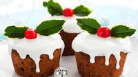 Sajian Kue Natal yang unik dapat Anda buat sendiri di rumah dengan mudah