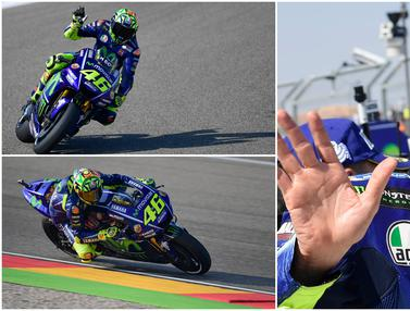 FOTO: Sah, Valentino Rossi Resmi Bela Petronas Yamaha SRT di Ajang MotoGP 2021
