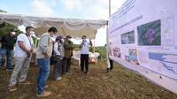 Wakil Gubernur Jawa Barat Uu Ruzhanul Ulum saat meninjau lokasi eksplorasi PLTB Ciemas di Kecamatan Ciemas, Kabupaten Sukabumi, Rabu (8/9/2021). (Foto: Biro Adpim Jabar)