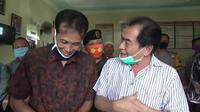 Bupati Banjarnegara, Budhi Sarwono saat mengklarifikasi tuduhan menolak bantuan provinsi. (Foto: Liputan6.com/Kominfo BNA)