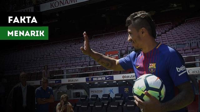 Terdapat fakta menarik saat Paulinho datang ke Barcelona.