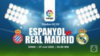 ESPANYOL VS REAL MADRID (Liputan6.com/Abdillah)