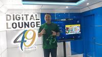 Direktur Konsumer Bank Bukopin, Rivan A. Purwantono saat relaunching Digital Lounge Bukopin (Merdeka.com/Yayu Agustini Rahayu).