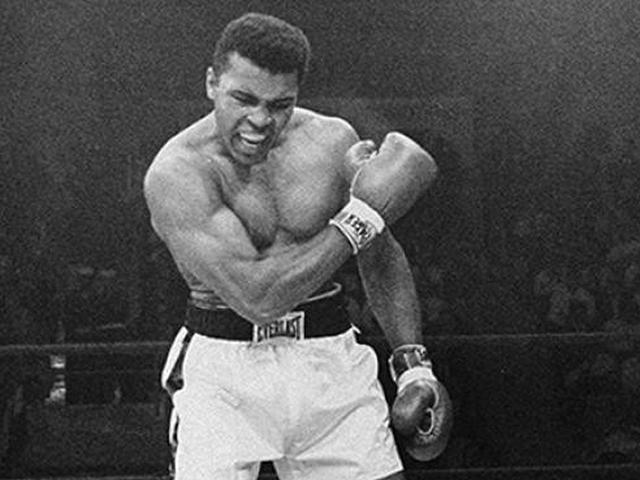Gambar Mohammad Ali Fakta Sebenarnya Dari Foto Muhammad Ali Latihan Di Dalam Air Cek Fakta Liputan6 Com