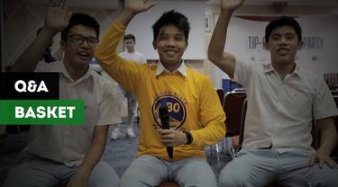 Berita video kuis adu pintar siswa Kolese Kanisius tentang basket, NBA dan IBL.