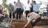 Peletakan batu pertama panti yatim piatu di Ciamis