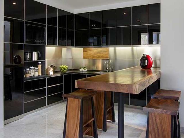 7 Inspirasi Kombinasi Warna Hitam Untuk Dapur Yang Elegan Lifestyle Liputan6 Com