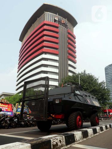 Pegawai KPK Dilantik Jadi ASN, Pengamanan Gedung KPK Diperkuat
