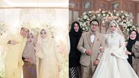 Pasangan yang Menikah Menggunakan Jasa WO Rina Gunawan. (Sumber: Instagram/adlyfairuz dan Instagram/rinagunawan_wodaneo)