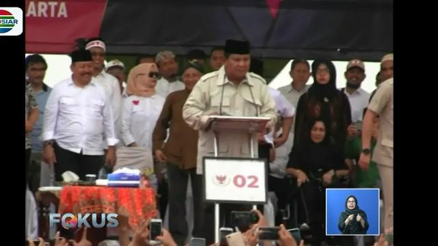 Dengan berapi-api Prabowo menyinggung ketimpangan bangsa oleh para elit politik yang tidak bertanggung jawab hingga kekayaan negara yang dirampok.