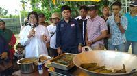 Beberapa olahan sagu yang ditampilkan dalam Festival Sagu Nusantara di Kepulauan Meranti. (Liputan6.com/M Syukur)