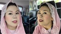 Yenny Wahid tampil cantik dengan kerudung pink dan tanpa guratan di wajahnya (Dok.Instagram/@yennywahid/https://www.instagram.com/p/BxeMG09HLD_/Komarudin)