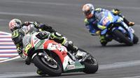 Pembalap asal Inggris Cal Crutchlow bersaing di MotoGP. (motorsport.com)