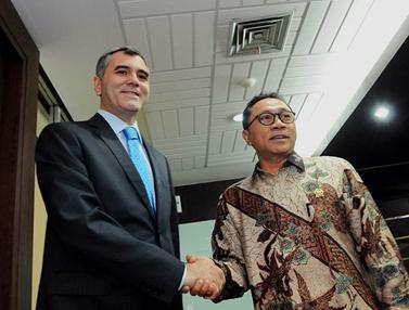 Ketua MPR Terima Kunjungan Dubes Turki dan Jepang
