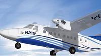 Pesawat N219 produksi PT Dirgantara Nusantara. (Foto: PTDI)