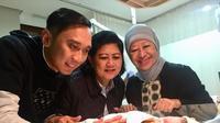 Ani Yudhoyono mendapat cucu keempat di hari pertama 2018 (instagram/aniyudhoyono)