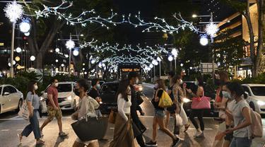 Orchard Road Singapura Menyongsong Natal