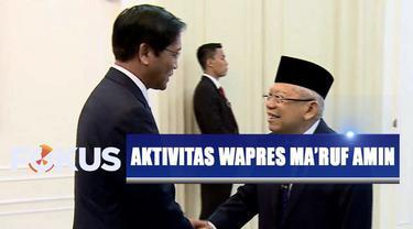 Setelah pertemuan dengan Ma'ruf Amin, ketiga tamu wakil presiden dari negara lain langsung meninggalkan Istana Wakil Presiden.