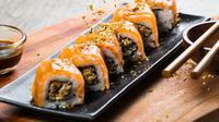 Berikut kenikmatan sushi dari restoran Jepang asal Indonesia hadir di Shanghai, China. (Foto: Dok. Sushigroove)