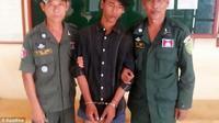 Tersangka sudah ditahan oleh pihak kepolisian. Source: Asian Wire