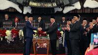 Sidang Paripurna Pelantikan Presiden RI Joko Widodo dan Wakil Presiden RI Ma'ruf Amin, Minggu (20/10).