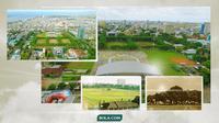 Kolase Lapangan Karebosi. (Bola.com/Dody Iryawan)