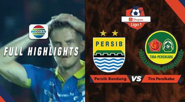Berita Video Highlights Shopee Liga 1, Persib Bandung Ditahan PS Tira 1-1